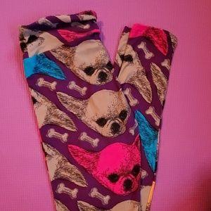Lularoe Chihuahua leggings